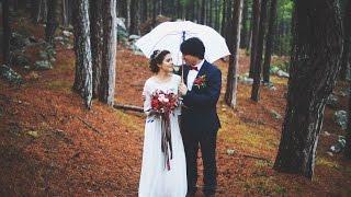 Декор осенней свадьбы в Крыму ☆лесная сказка Константина и Марии☆