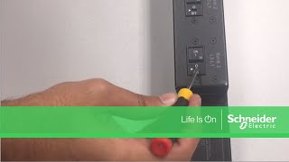 Resetting Tripped Circuit Breaker on APC Rack PDU to Restore Power | Schneider Electric Support
