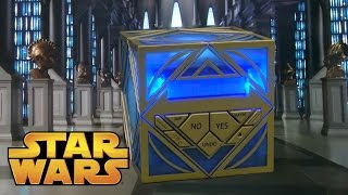 Star Wars Science Jedi Holocron from Uncle Milton