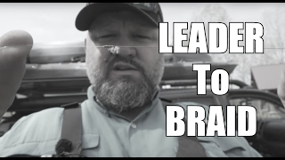 Braid to Leader Connection | TOAD TIP | Kayak Bass Fishing