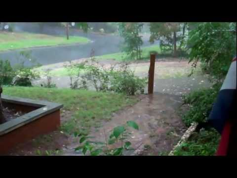 Local Effects from the Remnants of Hurricane Isaac
