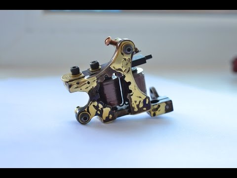 """Сogwheel"" Custom tattoo machines. Adam Moskaly"