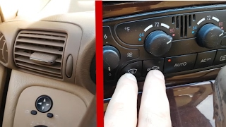 Adaptation of damper climate control on Mercedes W203 / Adaptation Climate Control W203