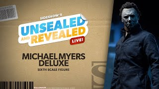 Michael Myers Deluxe Sixth Scale by Sideshow   Unsealed and Revealed