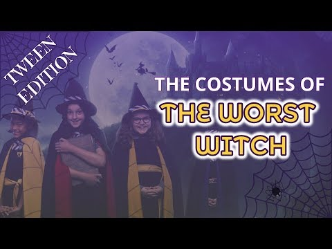 🦇 The Worst Witch Costumes - Behind the Scenes Tween Edition