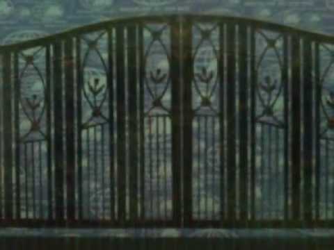 grille door wrought iron main gate design 2012 & grille door wrought iron main gate design 2012 - YouTube