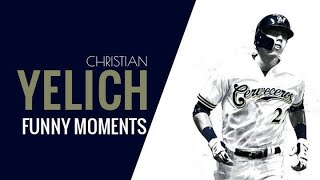 Christian Yelich-Funny Moments