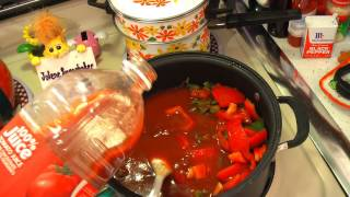 Stuffed Pepper Soup : Trailer Park Cooking Show
