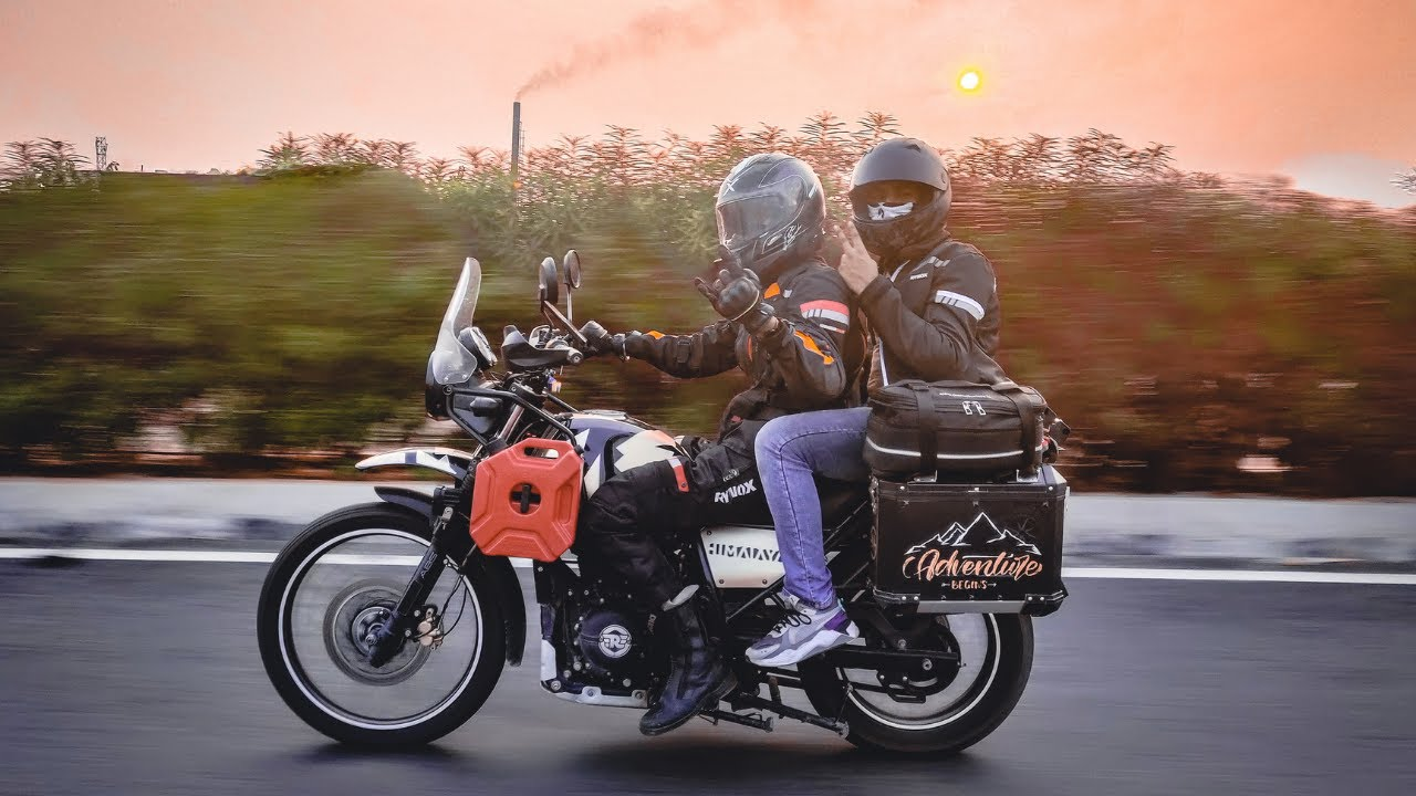 Motorcycle Camping Ride Starts...