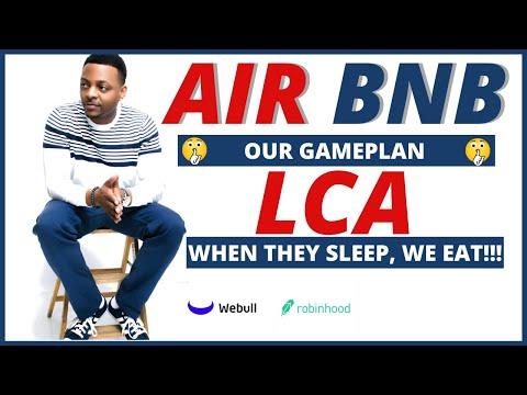 ABNB + LCA STOCK GAMEPLAN???