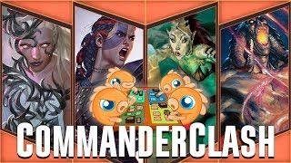 Commander Clash S4 Episode 11: New Years Resolutions! (Breya vs. Saskia vs. Thada vs. Yidris)