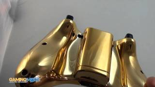 gold xbox 360 controller exclusively from gamingmodz com