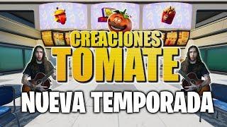 Nueva Temporada - Fortnite Creaciones Tomate - Episodio 24