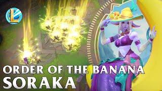Order of the Banana Soraka Skin Spotlight - WILD RIFT