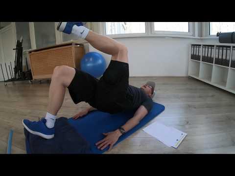 Trainingsplan #6 Stabilisation Hüfte-Knie-Sprunggelenk (Fortgeschritten) (Heimtraining)