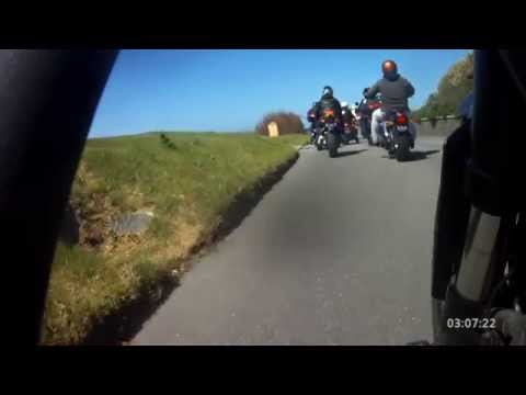 Trifest Guernsey May 3 2015 Triumph Motorcycles TOMCC Island rideout Part 1