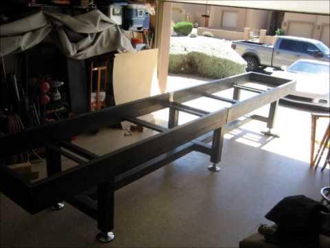 Ordinaire DIY Steel Shuffleboard Table