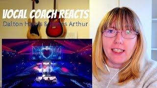 Vocal Coach Reacts to Dalton Harris & James Arthur - X Factor Final 2018