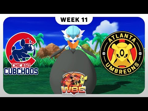 LAST CHANCE AT PLAYOFFS!!! | Chicago Cubchoos vs Atlanta Umbreons | WBE Season 1 Week 11