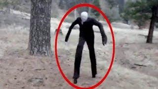 5 Slenderman Caught On Camera - Slenderman In Real Life