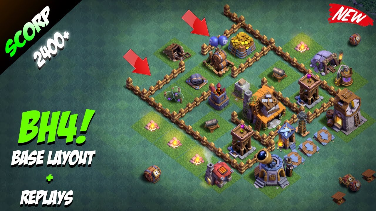 Base Builder Hall  Clash Of Clans