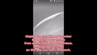 Quick Arc Launcher Sub launcher introduction video screenshot 4