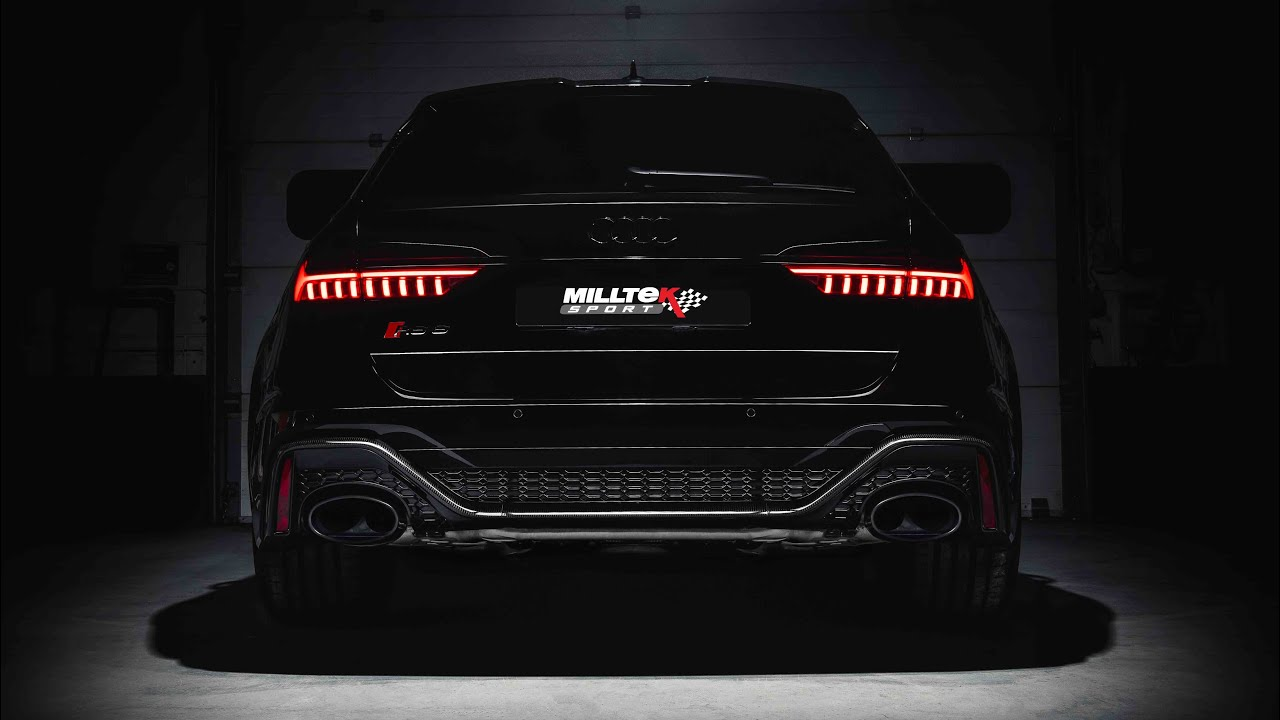 Milltek Sport Exhausts Black Number Plate Show Track Photo VW Audi Seat Skoda