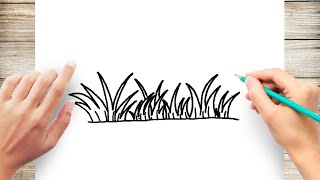 Gambar cover How to Draw Grass Step by Step