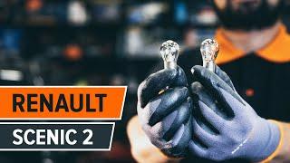 Hvordan bytte Dynamo RENAULT SCÉNIC II (JM0/1_) - online gratis video