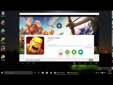 How To Download BlueStacks And Play Clash Of Clans On PC ( Windows XP / Vista / 7 / 8 / 8.1 / 10 )