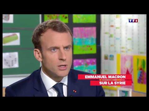 Les grandes phrases de Macron au JT de TF1