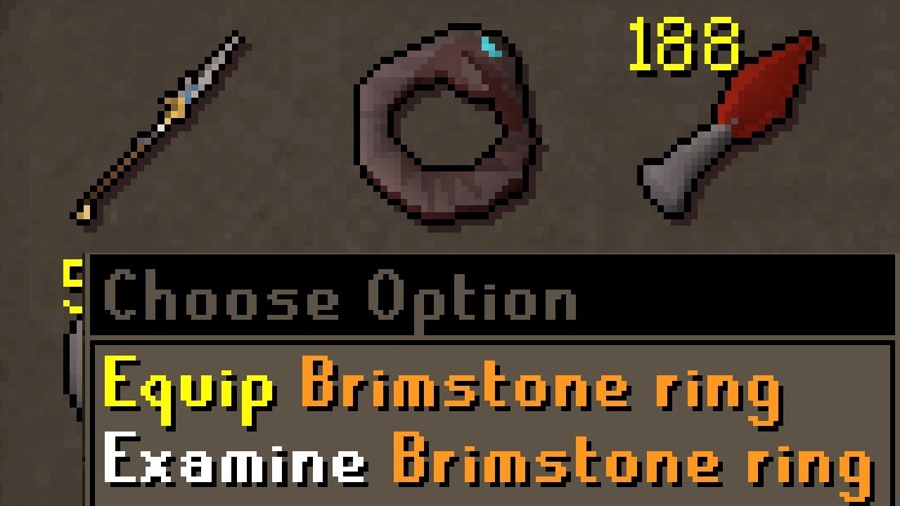 PKing with the New Brimstone Ring