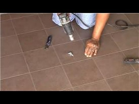 Vinyl Flooring Maintenance & Cleaning : How to Repair a Bubble in a ...