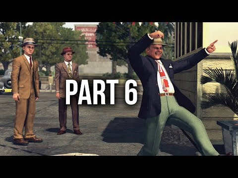 LA Noire Remastered Gameplay Walkthrough Part 6 - SLIP OF THE TONGUE
