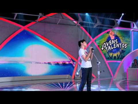 Programa Raul Gil - Natan (One Night Only) - Jovens Talentos 2013 - #JT2013