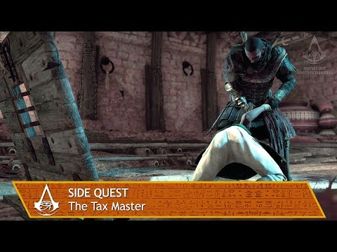 Assassin's Creed Origins - Side Quest - The Tax Master