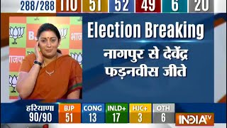Our vote share has increased more than double: Smriti Irani