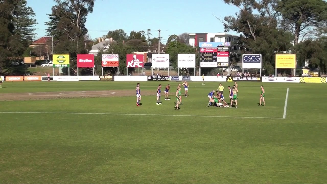 QF - Deer Park Goals from Stoppages