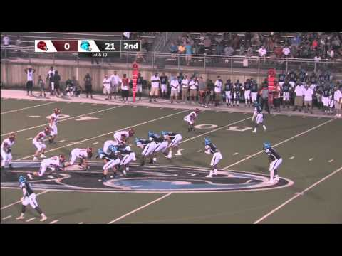 Woodland Hills vs Peters Township - September 4, 2015