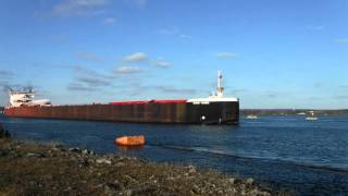 Great Lakes freighter Burns Harbor