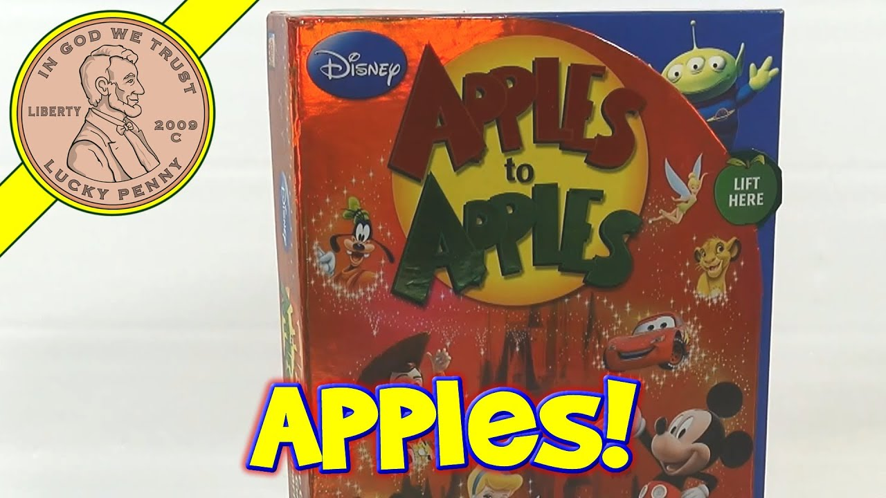Hashmi how to play apples to apples disney doodle