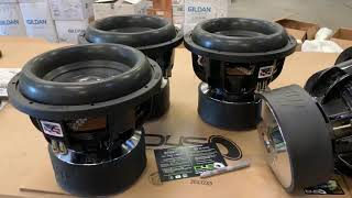 "CUSTOM XV2 12 | CARBON CAPPED | SUNDOWN AUDIO XV2 12"" D4 1500W RMS"