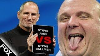 Steve Jobs Vs. Steve Ballmer