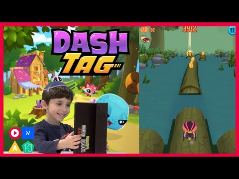 Liam Plays Dash Tag, Gets New Pets, Magnets And Keys!