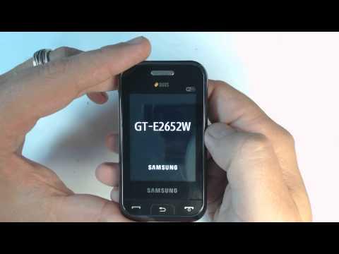 Samsung Champ Duos E2652W factory reset