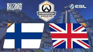 Overwatch - Finland vs. United Kingdom - Overwatch World Cup - Group B