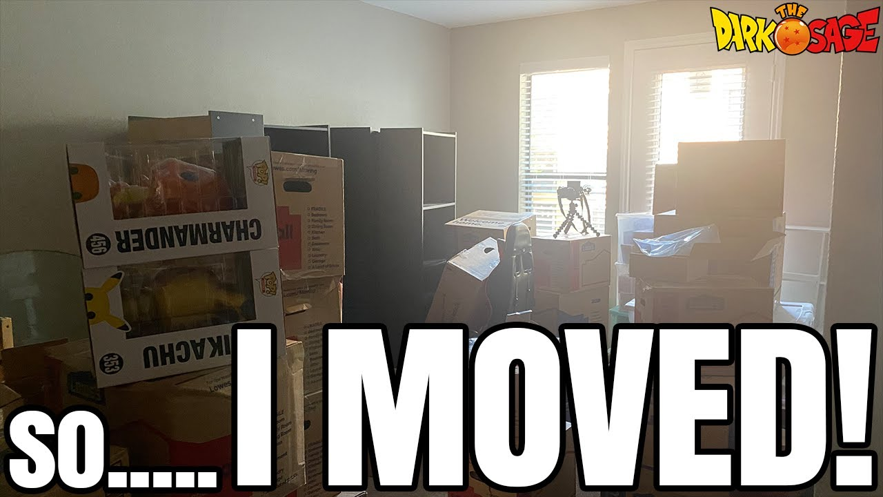 I MOVED MY ENTIRE MANGA & ANIME FIGURE COLLECTION!