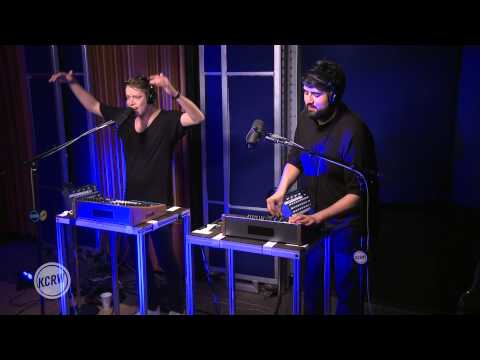 "Digitalism performing ""Second Chance""  on KCRW"