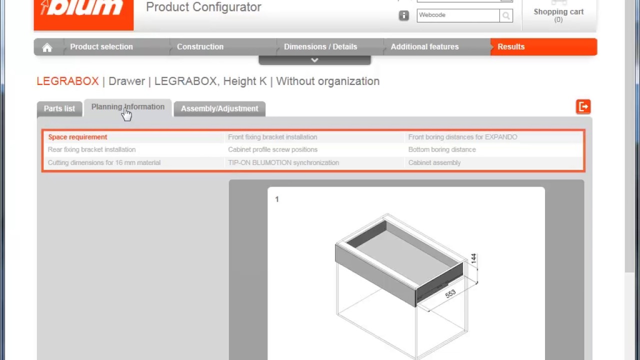 Online Product Configurator (OPC)