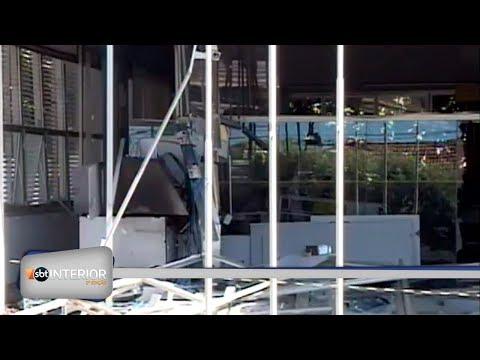 Bandidos que explodiram agência bancária em Três Fronteiras estão foragidos